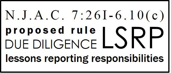 New proposed rule LSRP DD