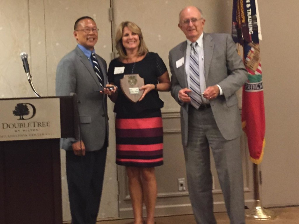 TTI receives SAME Sustaining Member Award 9-2015