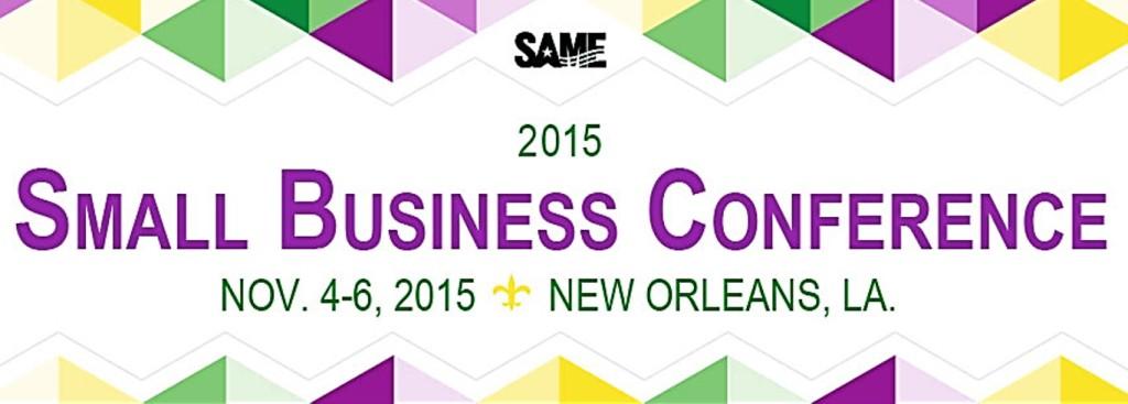 SAME small business conv 11-2015