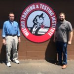 Inspectors Heller and Brieden recertify for Level II Non-Destructive Testing