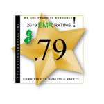 TTI announces 2019 EMR Rating of .79