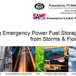 Resiliency – Protecting Fuel Storage Systems from Storms and Flood Damage