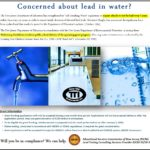 Lead in Water Testing – Will you be in compliance?